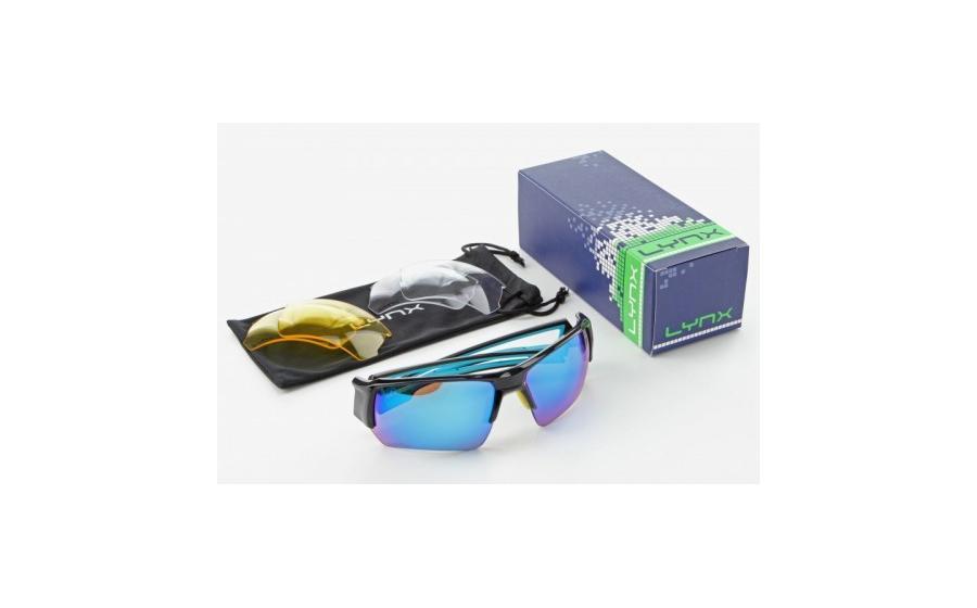 Очки для велосипедистов Lynx VEGAS B shiny black
