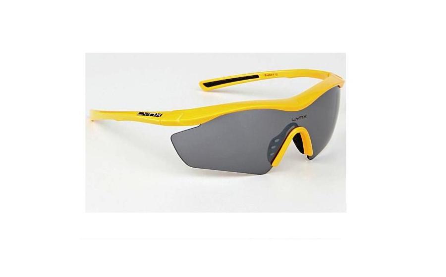 Велосипедные очки Lynx BOSTON Y shiny yellow