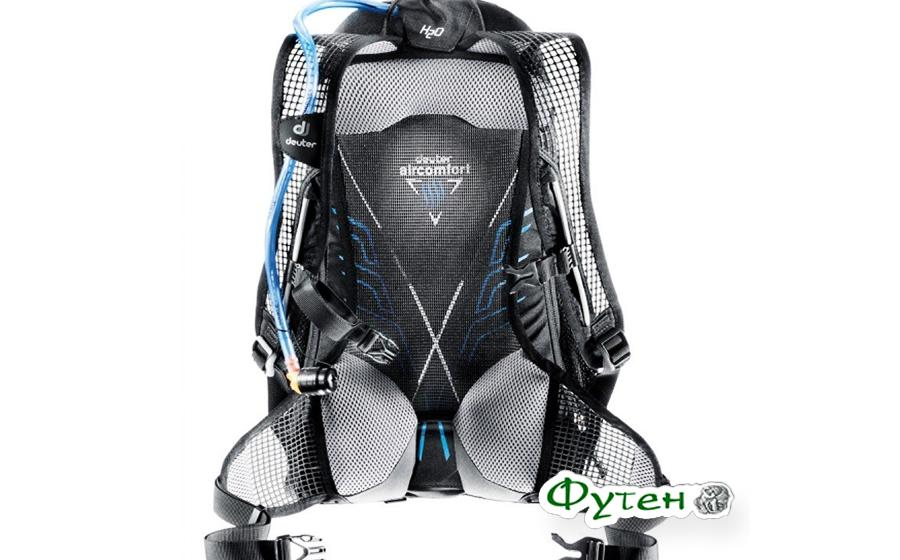 Велорюкзак Deuter RACE EXP AIR spring-anthracite