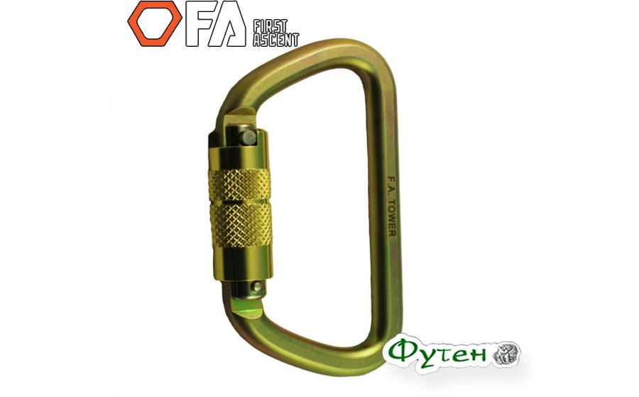 Карабин First Ascent TOWER 50 kN Autolock