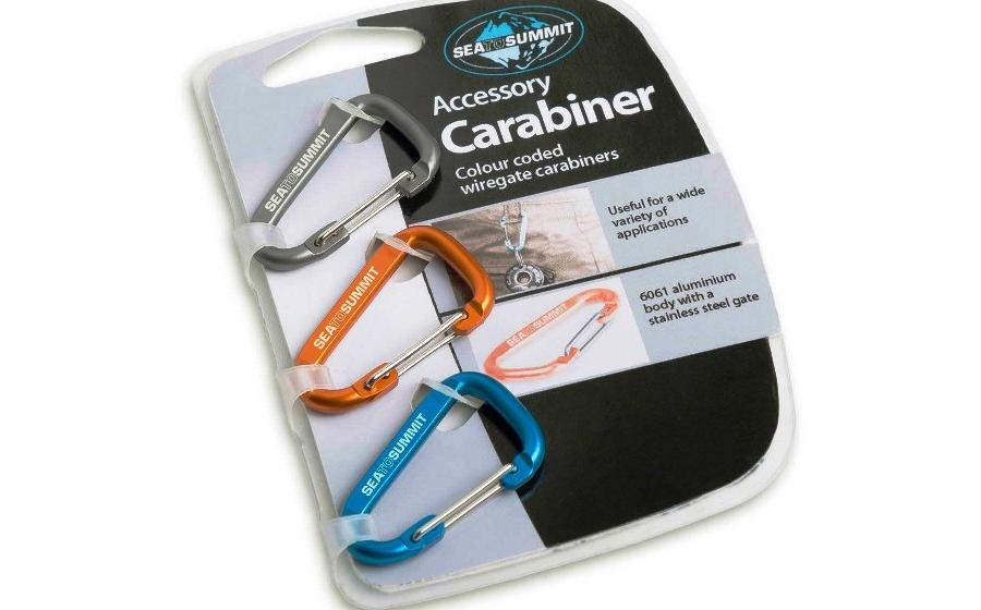 сувенирные Sea to Summit ACCESSORY CARABINER 3 PACK