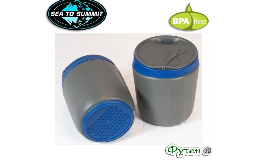 Кружка с крышкой Sea to Summit DELTA INSULMUG titanium grey  473 мл