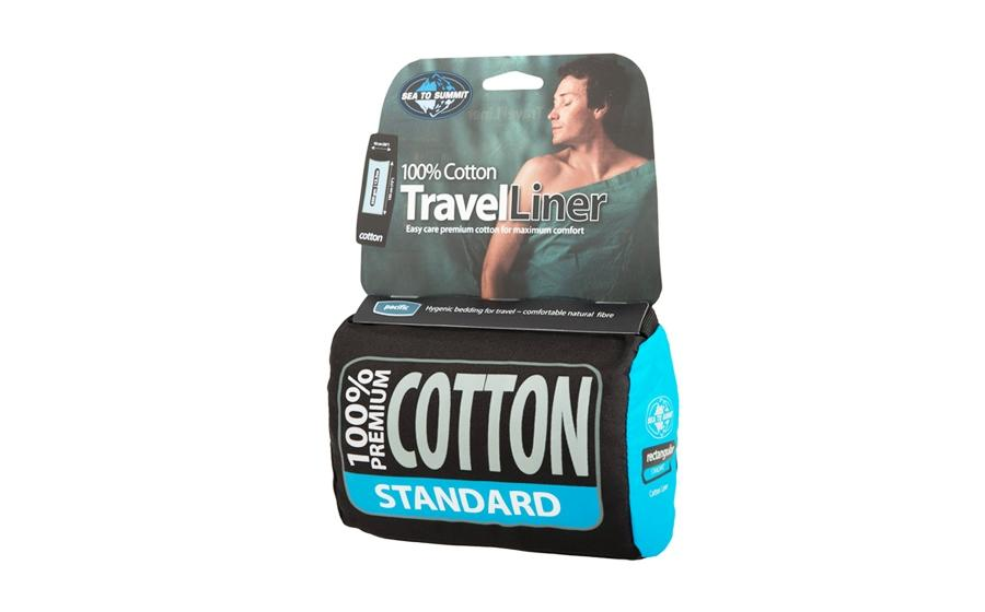 Вкладыш для спальника Sea to Summit COTTON LINER STD 185х92  350г