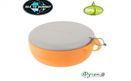 Миска с крышкой Sea to Summit DELTA orange/grey 800 мл