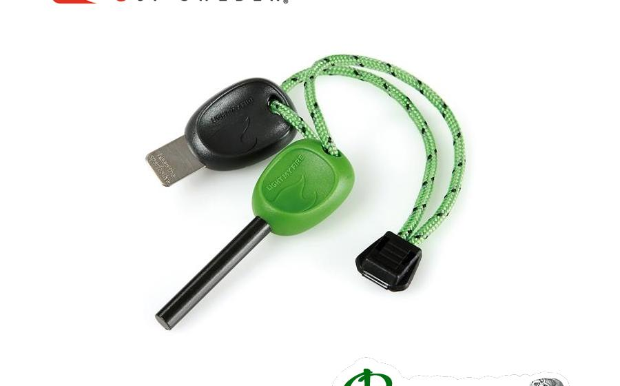 Огниво Light my fire SWEDISH FIRESTEEL 2.0 SCOUT pin-pack green