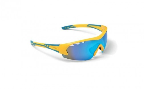 Велосипедные очки Lynx DETROIT UKR shiny yellow/blue