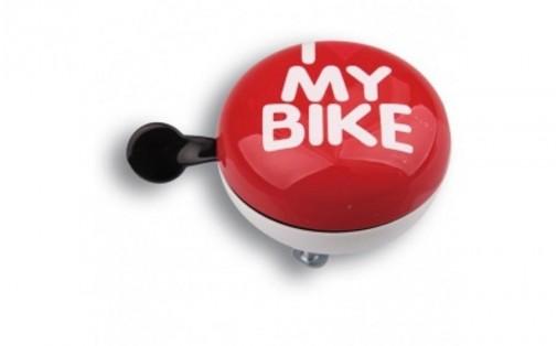 Велозвонок Green Cycle I love my bike