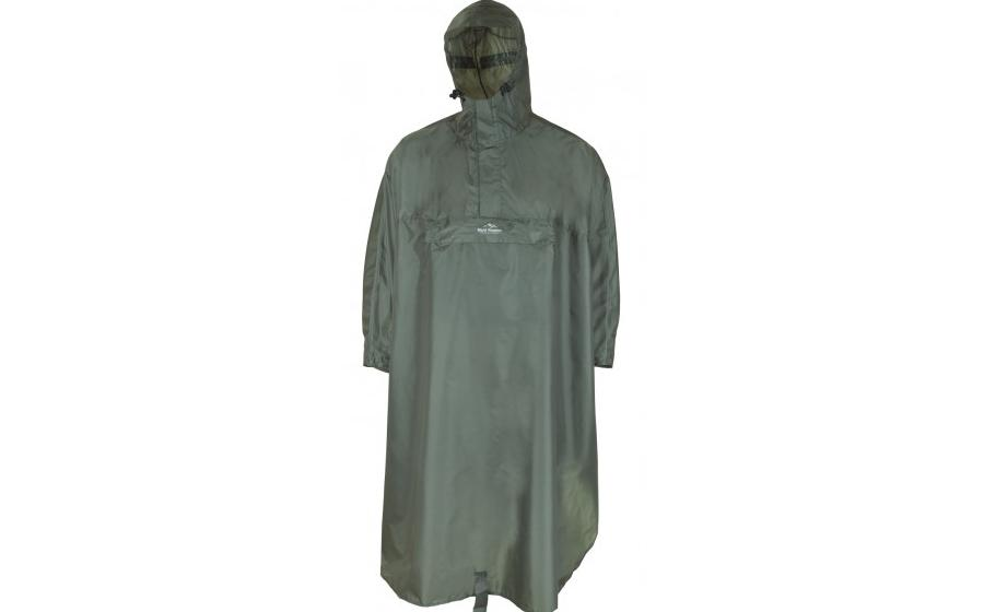 Дождевик пончоFjord Nansen BACKPACKER thyme green