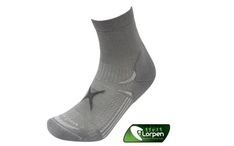 Носки Lorpen T3LS LIGHT HIKER SHORTY mid grey