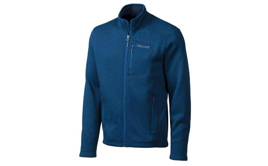 Мужской флис Marmot DROP LINE JKT blue night
