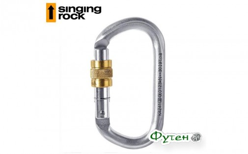 Карабин стальной Singing Rock Oval Steel Connector