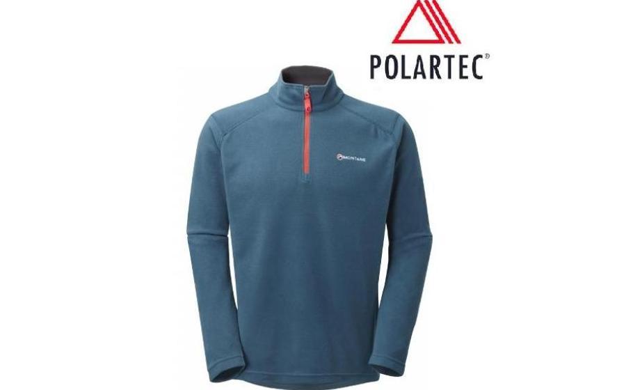 Пуловер Montane Polartec Micro CHUKCHI SHIRT