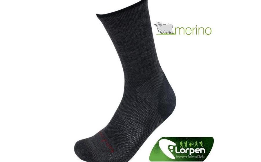 Треккинговые носки Lorpen MERINO WOOL Hiker 2-pack charcoal
