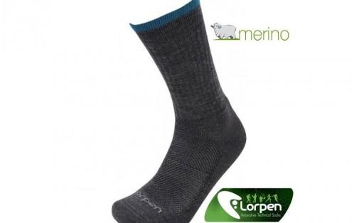 Треккинговые носки Lorpen Men's LIGHT HIKER  charcoal