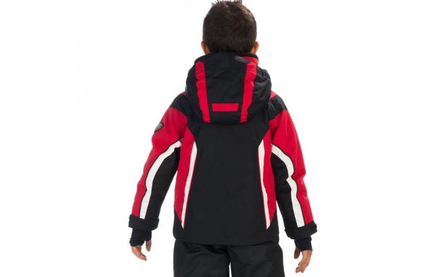 Детская лыжная куртка Hyra BARDONECCHIA black-red