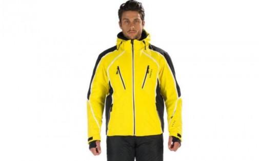 Лыжная куртка Hyra LES 2 ALPES blazing yell/black