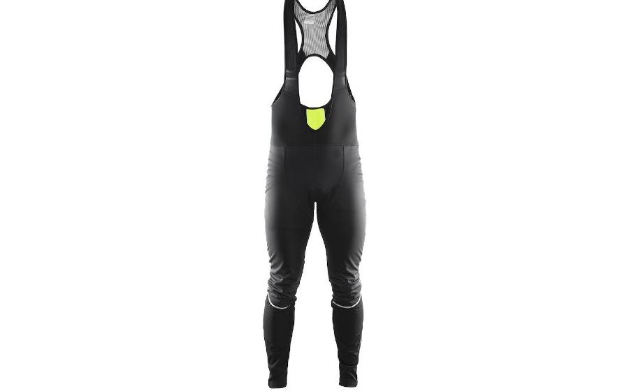 велосипедные штаны Craft STORM BIB TIGHTS M black/flumino