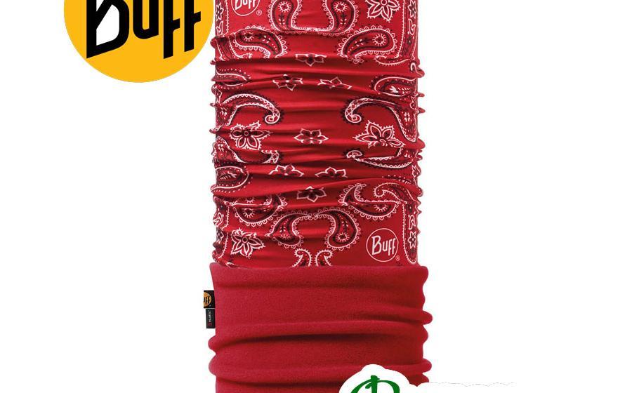 Повязка Buff POLAR CASHMERE red/samba
