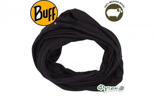 Бандана-шарф Buff Infinity WOOL BLACK