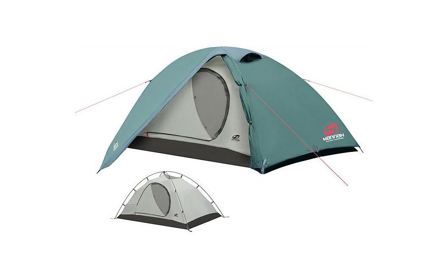 Палатка двухместная Hannah SERAK особенности