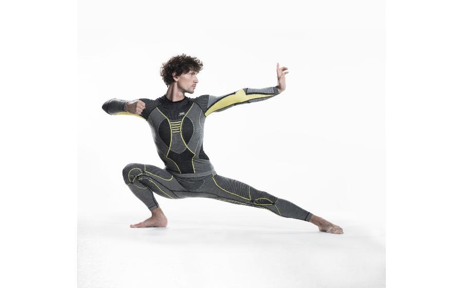 X-BIONIC Apani MAN Pants Long black/gray/yellow