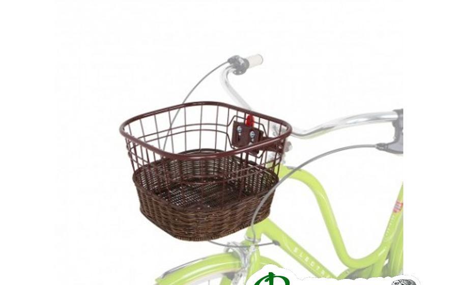 Корзина Green Cycle GCB-13-1 на велосипед