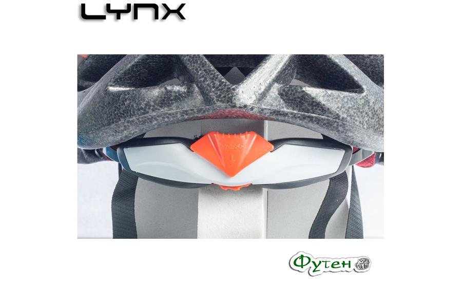 Велошлем Lynx LES GETS регулировка