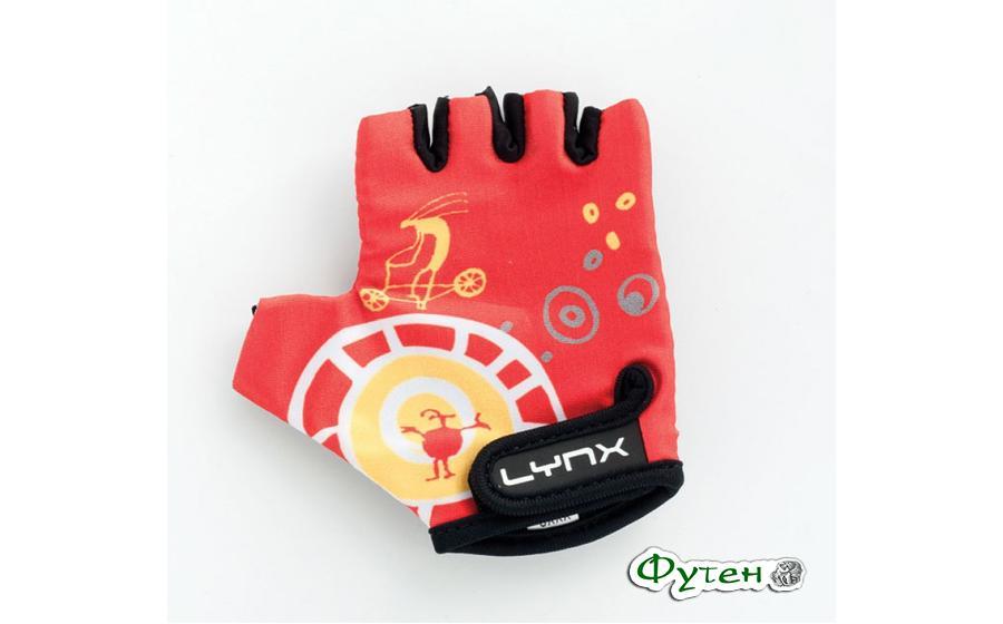 Велоперчатки детские Lynx KIDS red