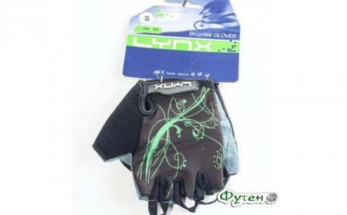 Велоперчатки женские Lynx AIR WOMEN green