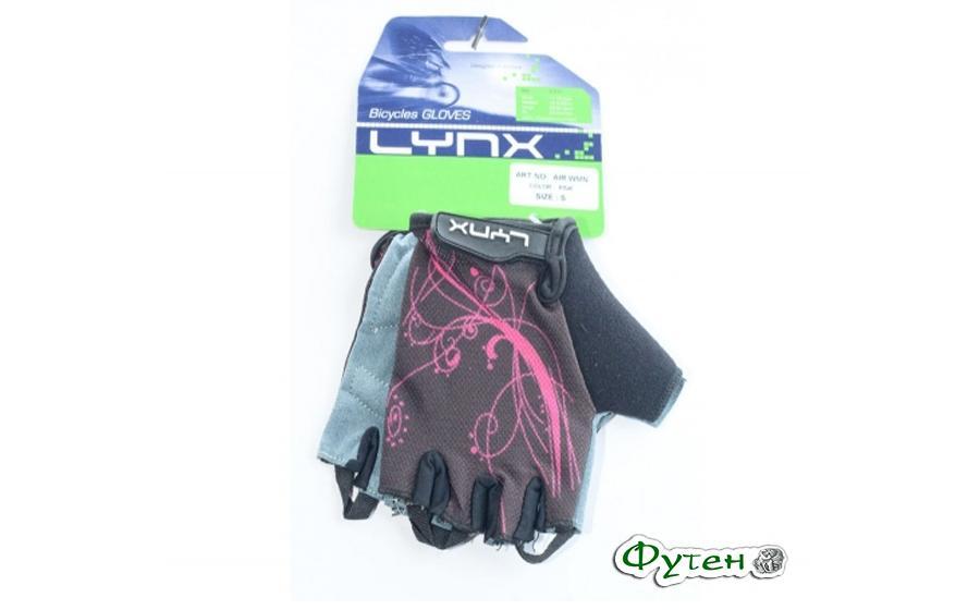 Велоперчатки женские Lynx AIR WOMEN pink