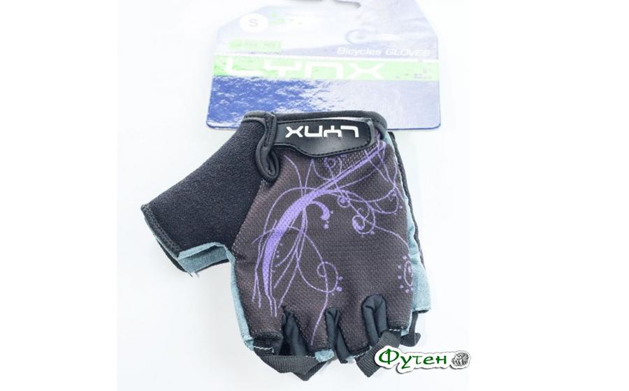 Велосипедные перчатки женские Lynx AIR WOMEN violet