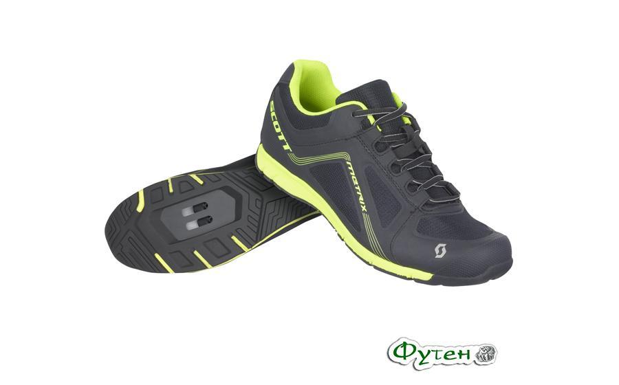 Велосипедные кроссовки SCOTT FR METRIX черно/желтые