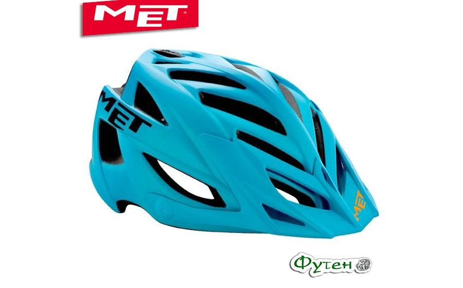 Шлем велосипедный Met TERRA matt cyan/black