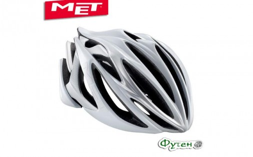 Шлем велосипедный Met STRADIVARIUS white/silver
