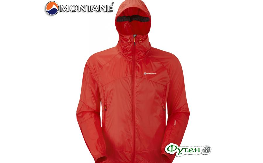 ветровка Montane Pertex Quantum LITE-SPEED JACKET red