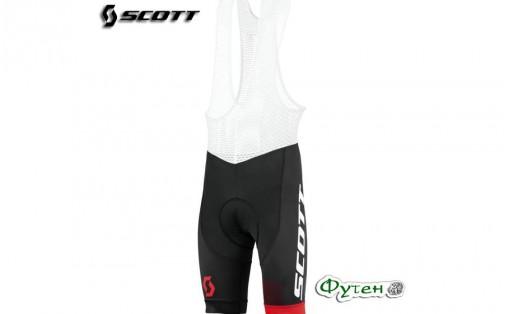 Велотрусы мужские SCOTT RC PRO +++ чёрный/красный