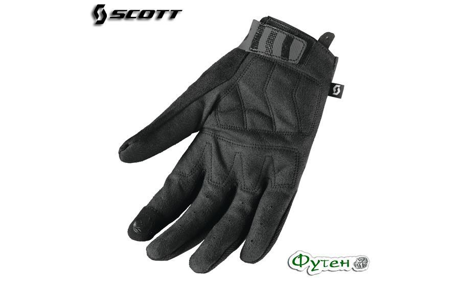 Велосипедные перчатки SCOTT ENDURANCE LF черные