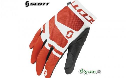 Велоперчатки SCOTT ENDURANCE LF бело/красные