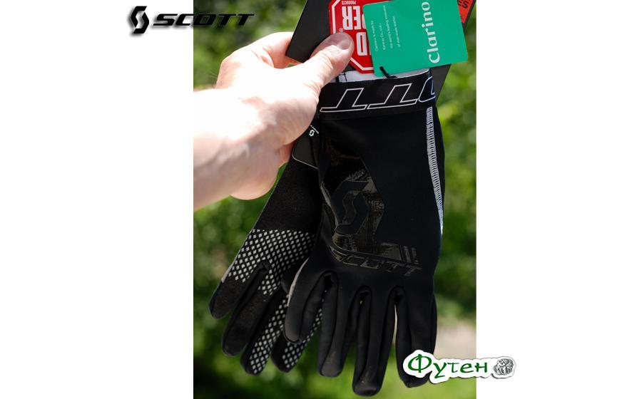 Велоперчатки SCOTT MINUS LF чёрные