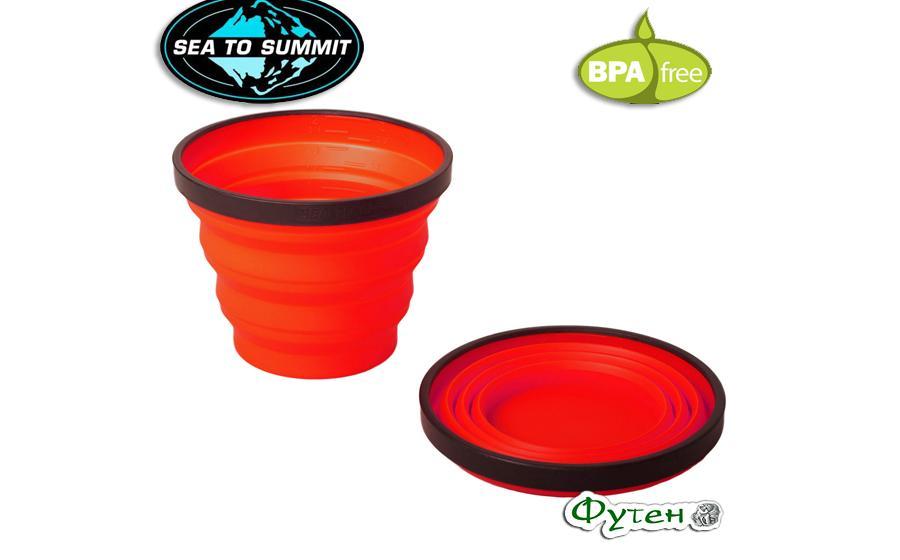 Чашка Sea to Summit X-CUP red 250 мл