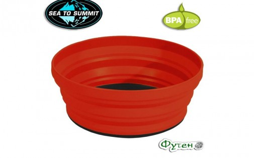 Миска Sea to Summit X-BOWL red
