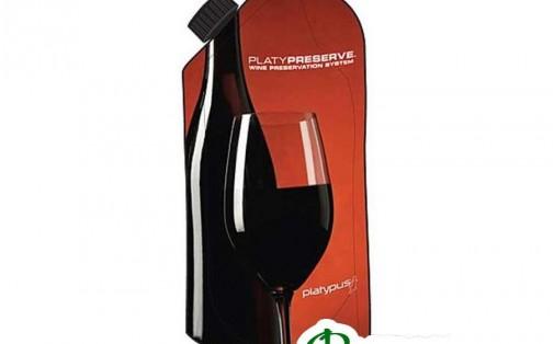 Фляга для вина PLATYPUS PLATY PRESERVE red