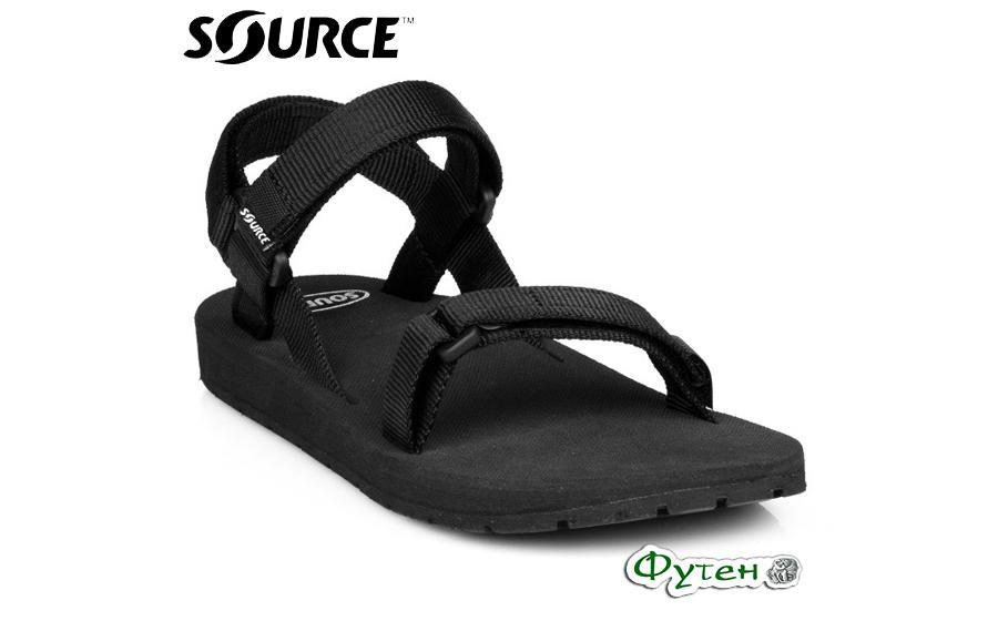 Сандали Source CLASSIC Mens black