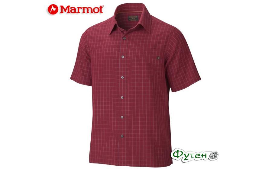 Рубашка Marmot ELDRIDGE SS brick