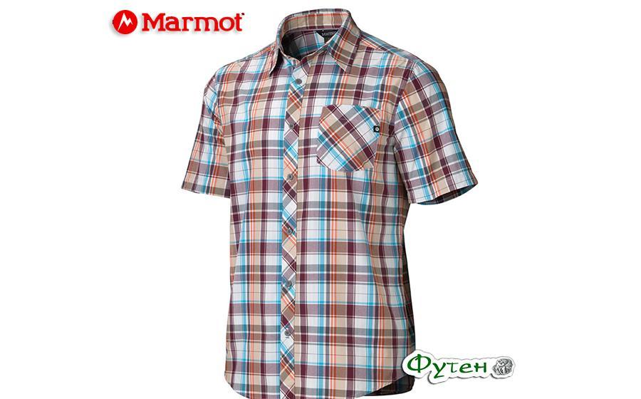 Рубашка Marmot DEXTER PLAID SS port royal