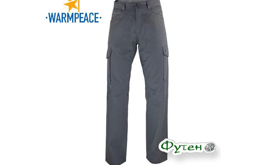 Warmpeace TRAVERS PANTS grey