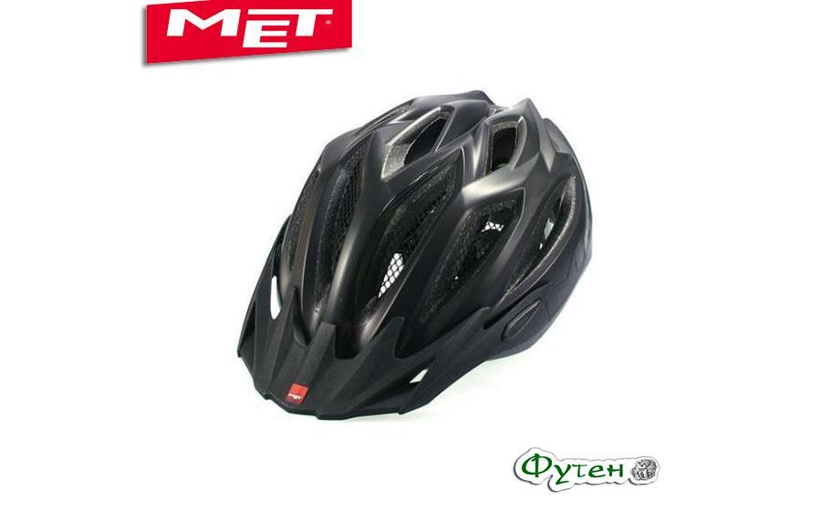 Шлем велосипедный Met CROSSOVER matt black