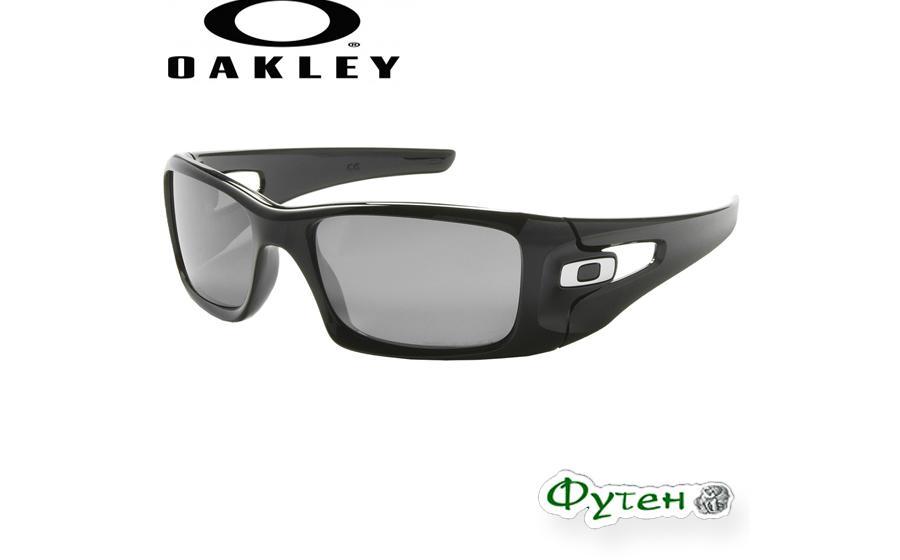 Очки Oakley CRANKCASE polished black w/black iridium polarized