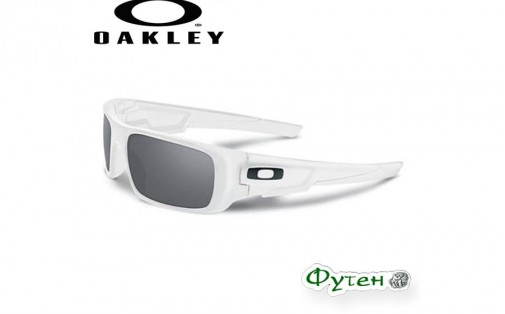 Очки Oakley CRANKSHAFT polished white w/grey