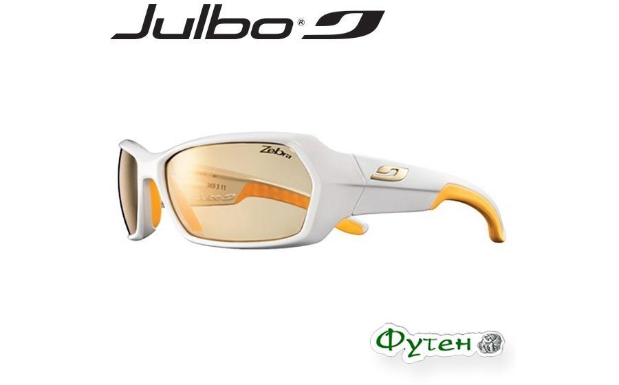 Очки Julbo DIRT Zebra white/yellow